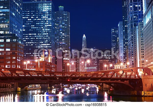 pont, franklin, chicago - csp16938815