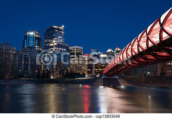 pont piétonnier - csp13803049
