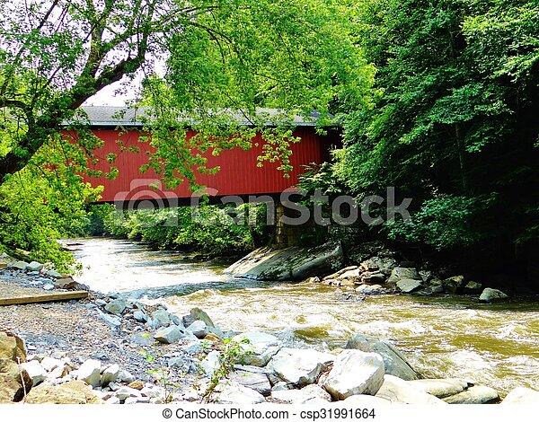 ponte coberta - csp31991664