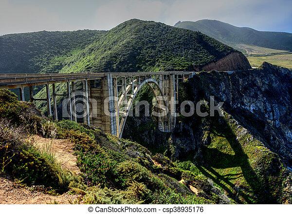 ponte, grande, 1, califórnia, sur, hwy - csp38935176