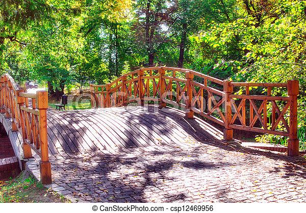 ponte, parque - csp12469956