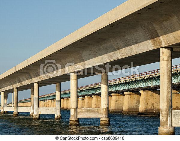 ponte, sette, miglio - csp8609410