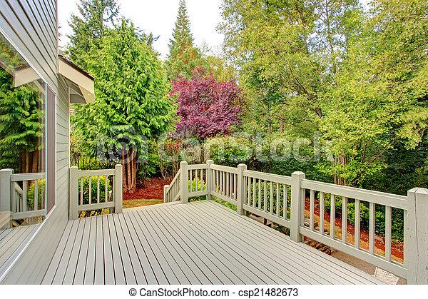 ponte, verde, walkout, trascurare, cintura - csp21482673