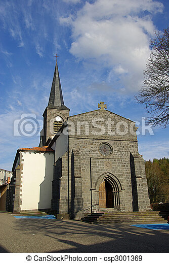 Pontgibaud church 01 - csp3001369