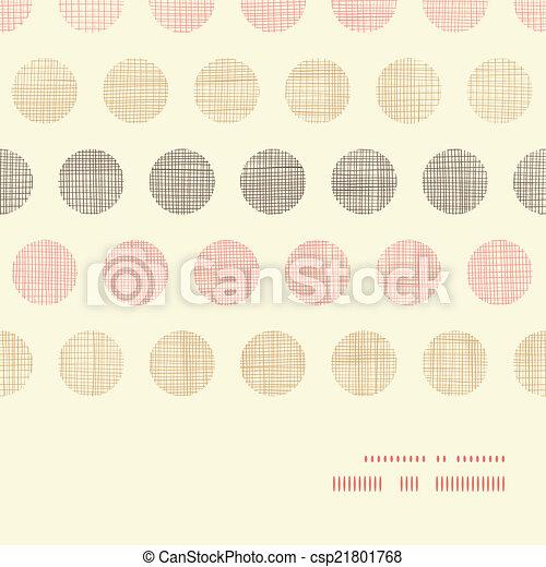 pontos, vindima, quadro, polca, seamless, têxtil, padrão experiência, horizontais - csp21801768
