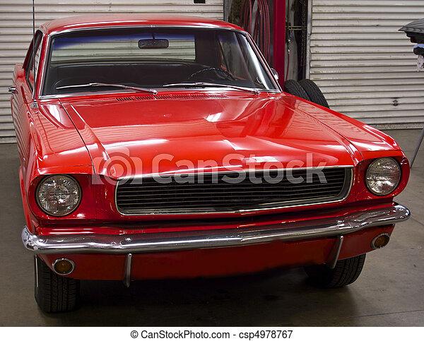 Pony Car 1 - csp4978767