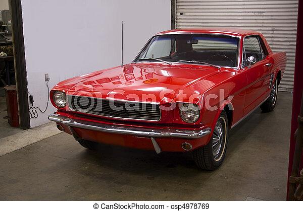 Pony Car 3 - csp4978769
