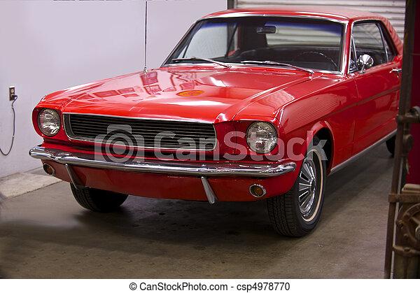 Pony Car 4 - csp4978770