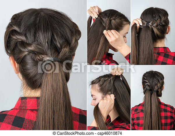 Pony Tail Hairstyle Tutorial