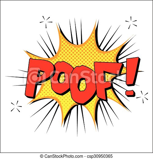 poof sound effect illustration word and blast picture clip art rh canstockphoto com blast clipart png bullet clip art free