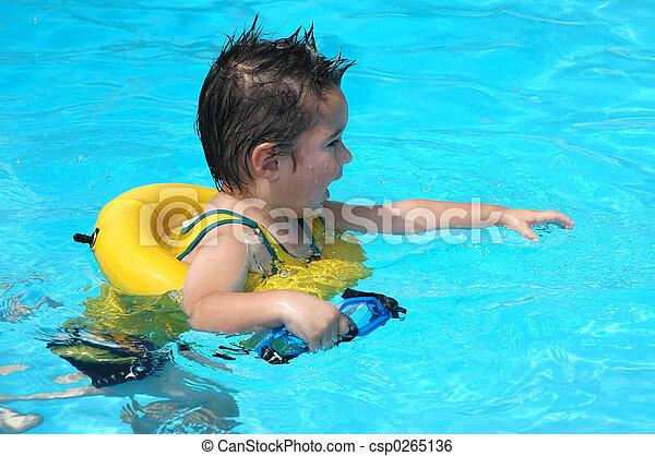 Pool Baby - csp0265136