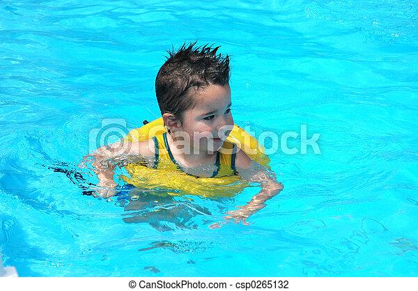 Pool Baby - csp0265132