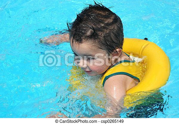 Pool Baby - csp0265149