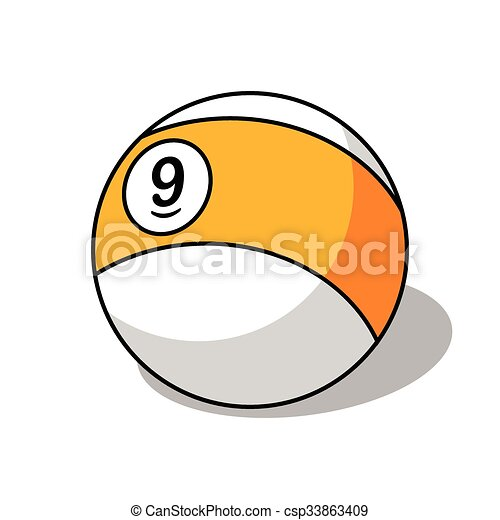 Pool Ball Number 9