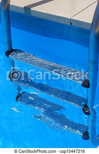 pool ladder - csp10447216