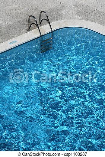 Pool Ladder - csp1103287