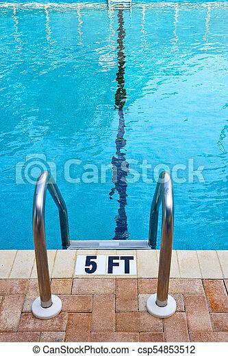 Pool Ladder - csp54853512