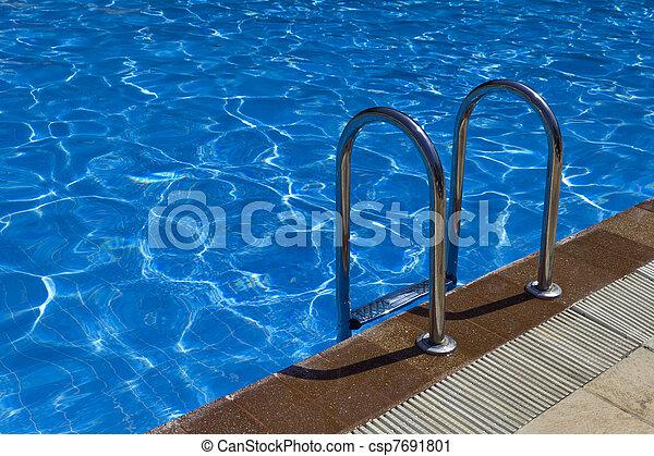 Pool ladder - csp7691801