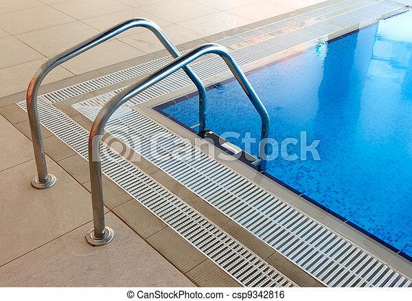 Pool Ladder - csp9342816