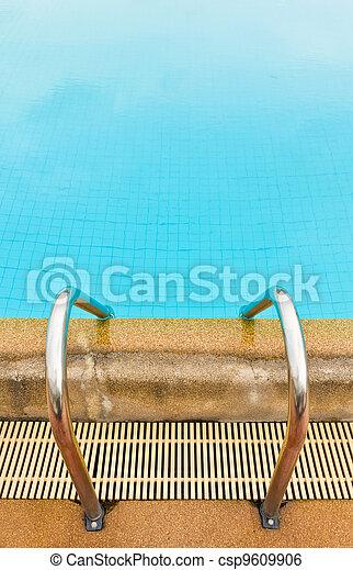 Pool ladder - csp9609906