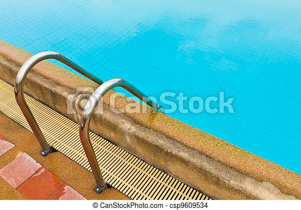 Pool ladder - csp9609534