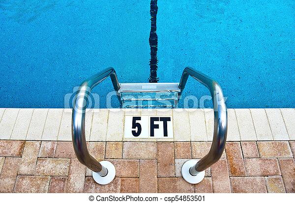 Pool Ladder - csp54853501