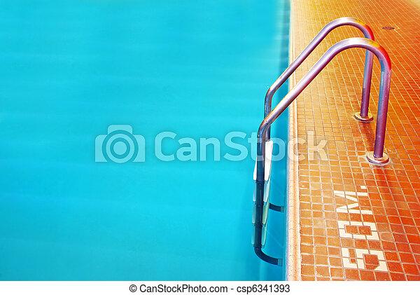 Pool Ladder - csp6341393