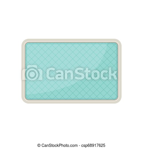 Pool plan. View from above. Vector illustration. - csp68917625