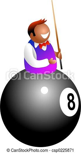 pool player - csp0225871