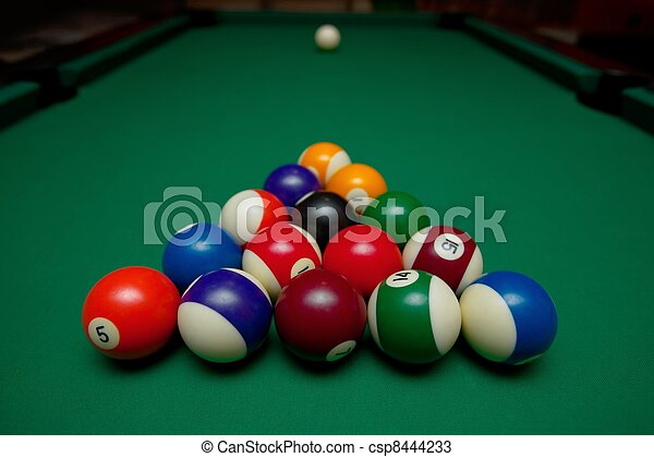 Pool Table Set Up For Beginning - How to set up a pool table