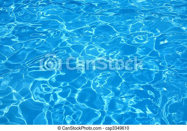 Pool Water - csp3349610