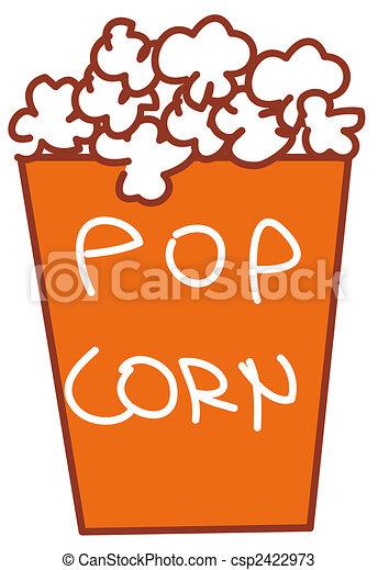 Pop corn - csp2422973
