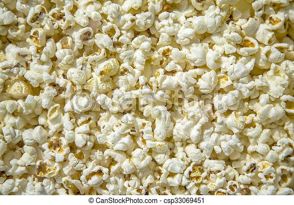 Pop corn - csp33069451