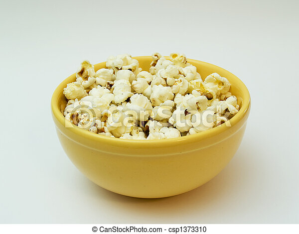 pop corn - csp1373310