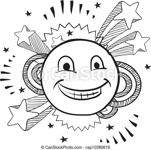 pop smiley face vector doodle style smiley face on pop 1970s 1970s Art pop smiley face vector