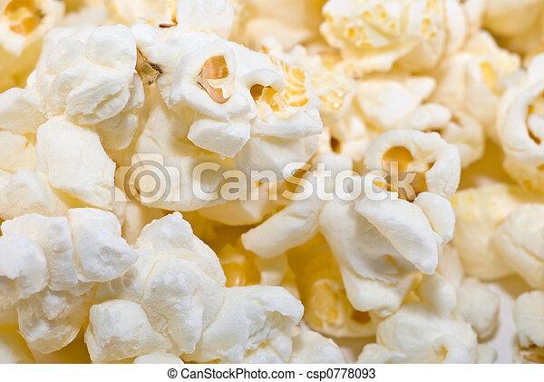 popcorn background - csp0778093