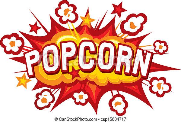 popcorn design - csp15804717