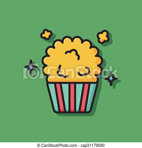 popcorn icon - csp31179590