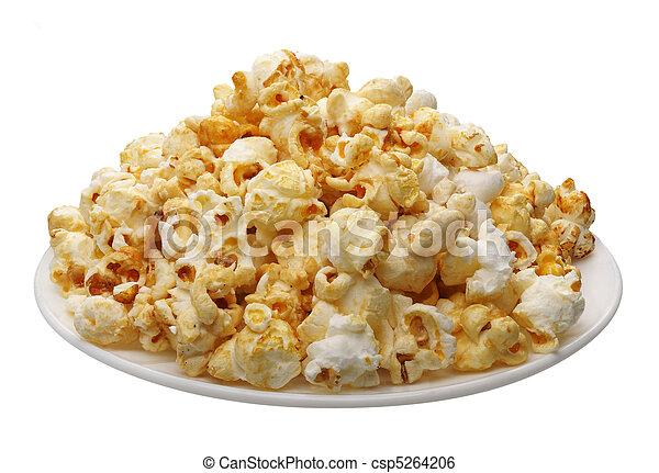Popcorn, isolated - csp5264206