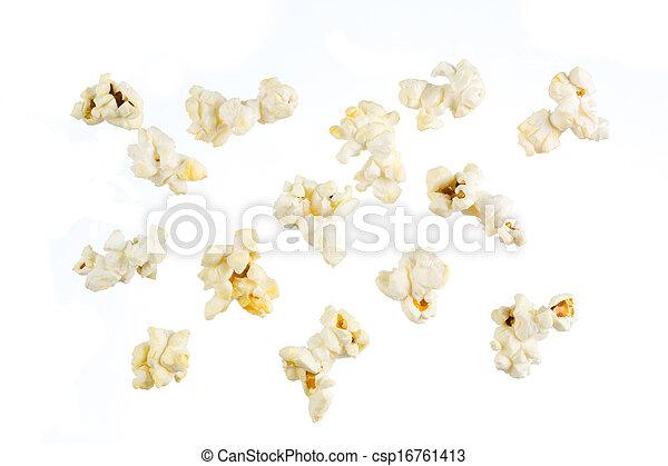 popcorn, odizolowany - csp16761413