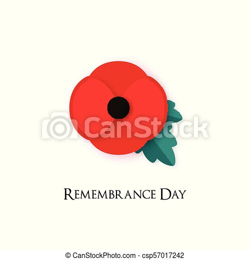 Poppy flower illustration for remembrance day poppy for armistice poppy flower illustration for remembrance day poppy for armistice day banner for anzac or victory in europe vector card template mightylinksfo