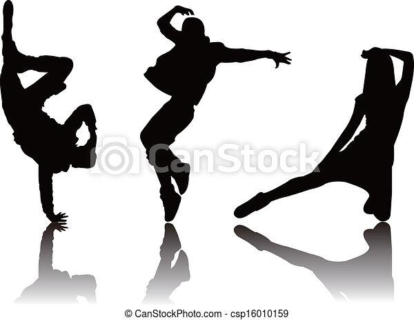 Hiphop dance Vector Clip Art EPS Images. 416 Hiphop dance clipart ...
