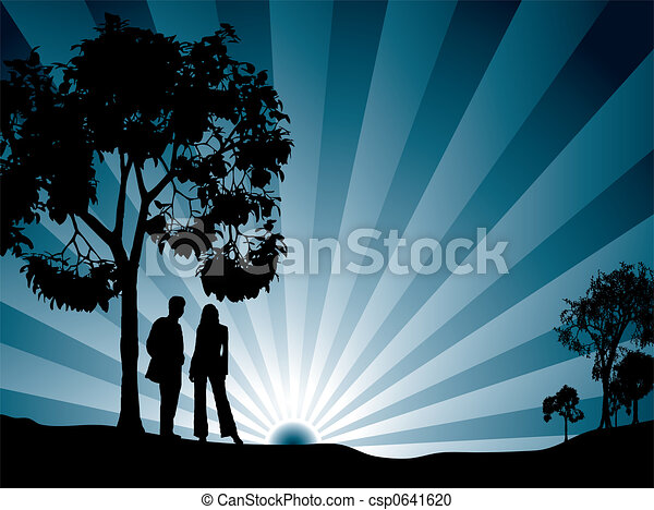 A través de los árboles - csp0641620