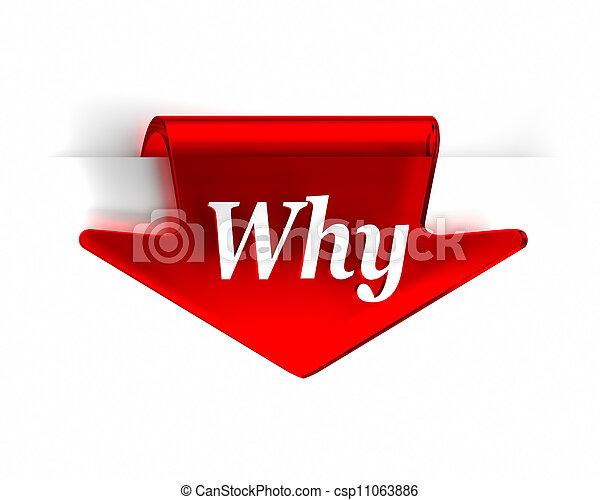 Por qué rojo - csp11063886