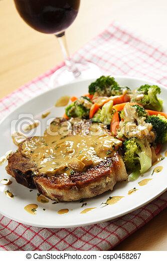 Pork chop - csp0458267