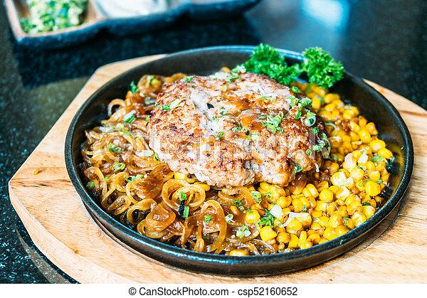 Pork chop steak - csp52160652