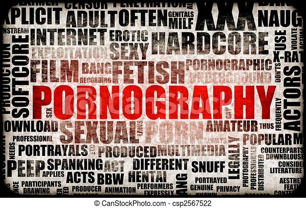 Pornography - csp2567522