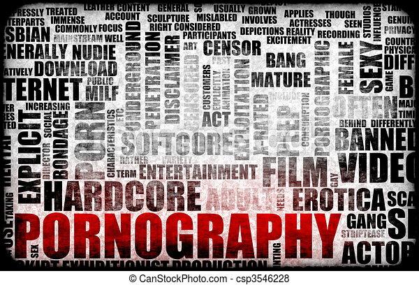 Pornography - csp3546228