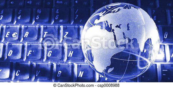 portão, mundo - csp0008988