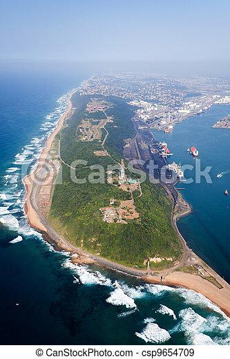port, afrique, durban, sud - csp9654709